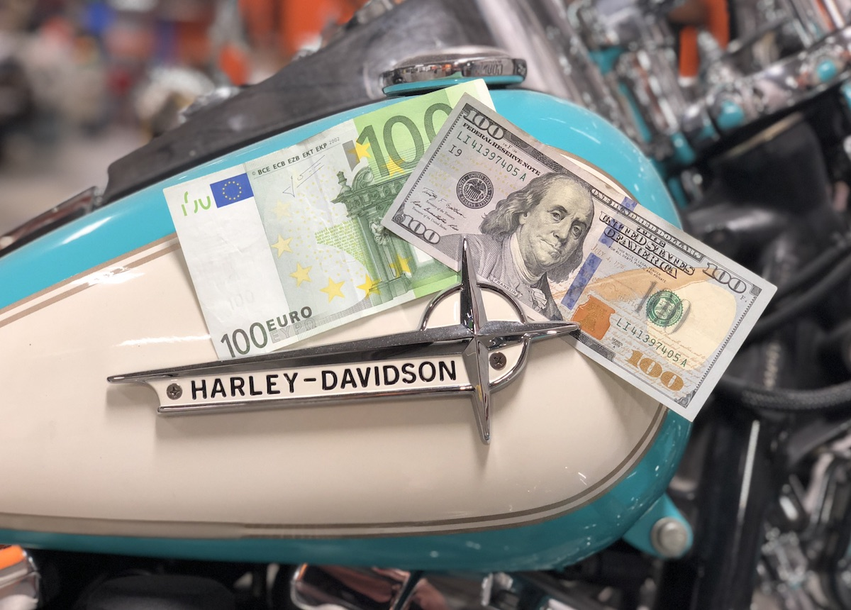 Strafzölle auf Harley-Davidson Motorräder - Wirkliche Probleme sehen anders aus.