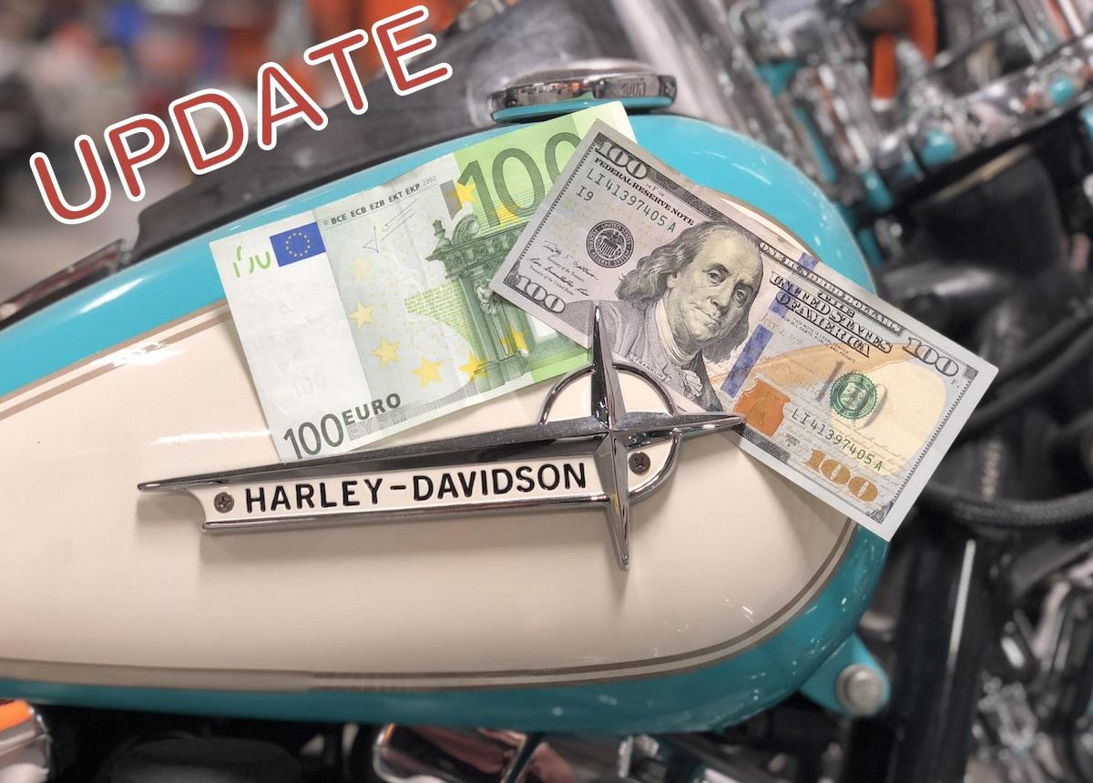 Die Harley-Davidson Preise bleiben vorerst stabil!