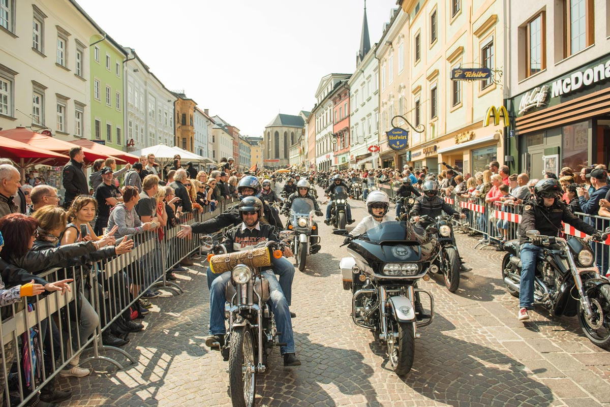 Vom 4. bis zum 9. September steigt die European Bike Week