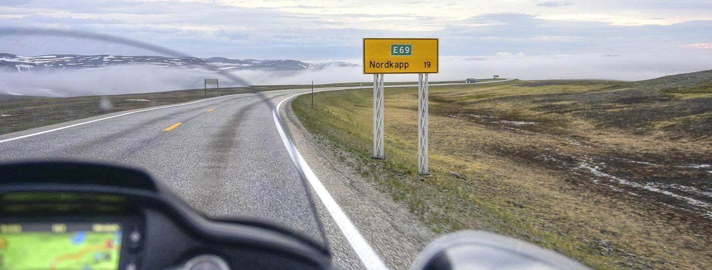 Auf der Harley-Davidson Road Glide Ultra zum Nordkap