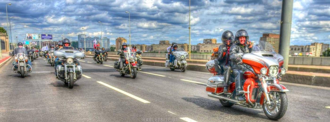 Sankt Petersburg Harley Days