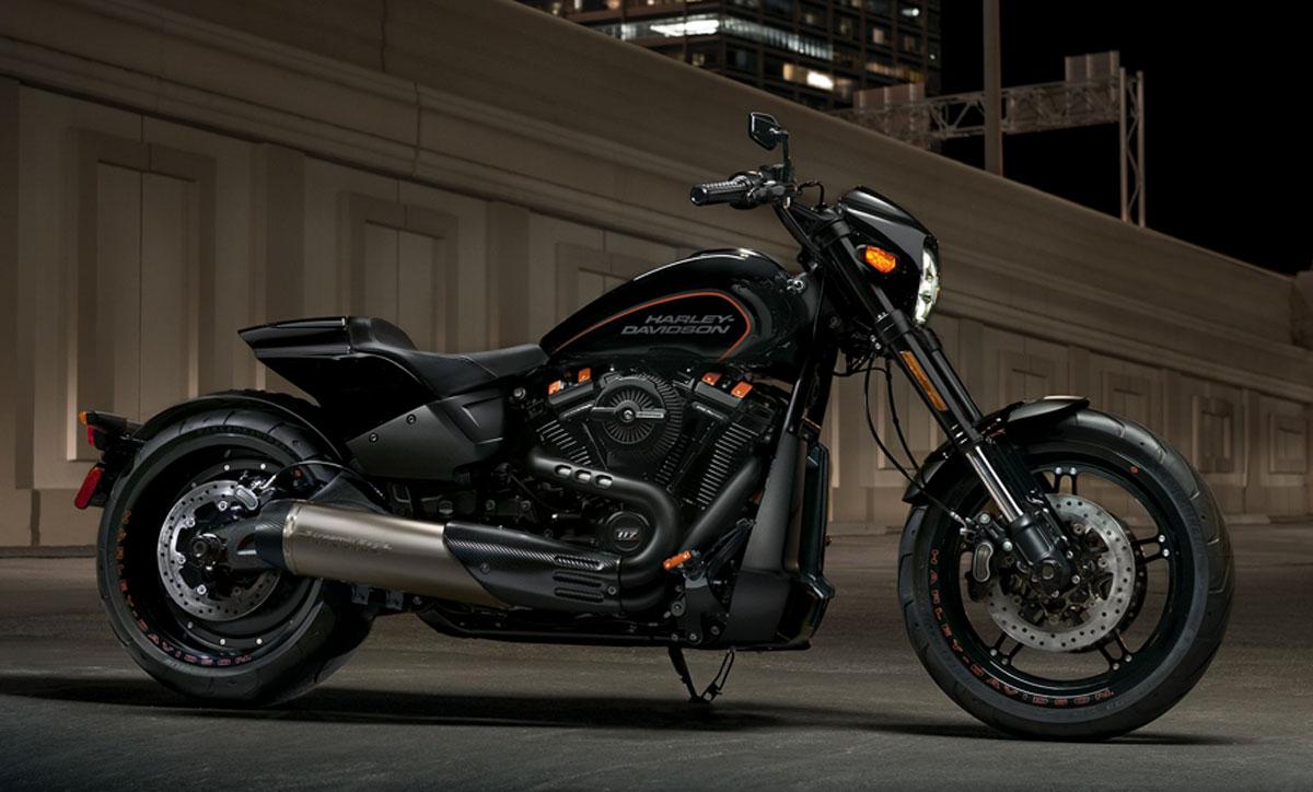 Neue Harley-Davidson FXDR 114 für 2019