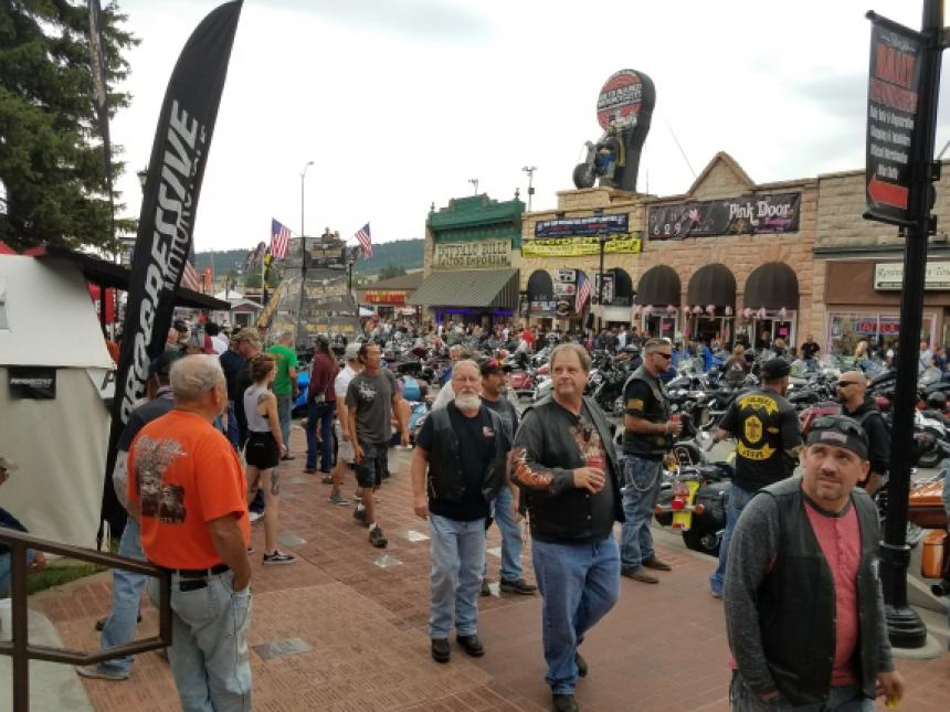 Harley Treffen in Sturgis USA