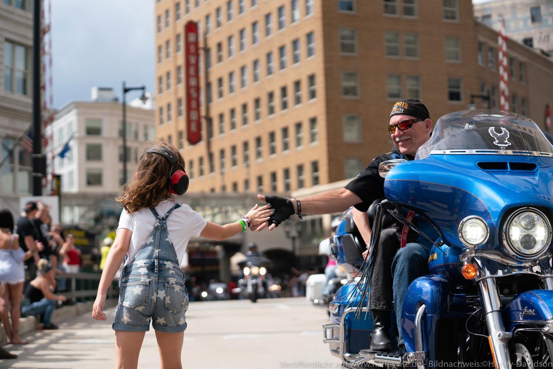 Harley-Davidson feierte seinen 115. Geburtstag in Milwaukee, USA