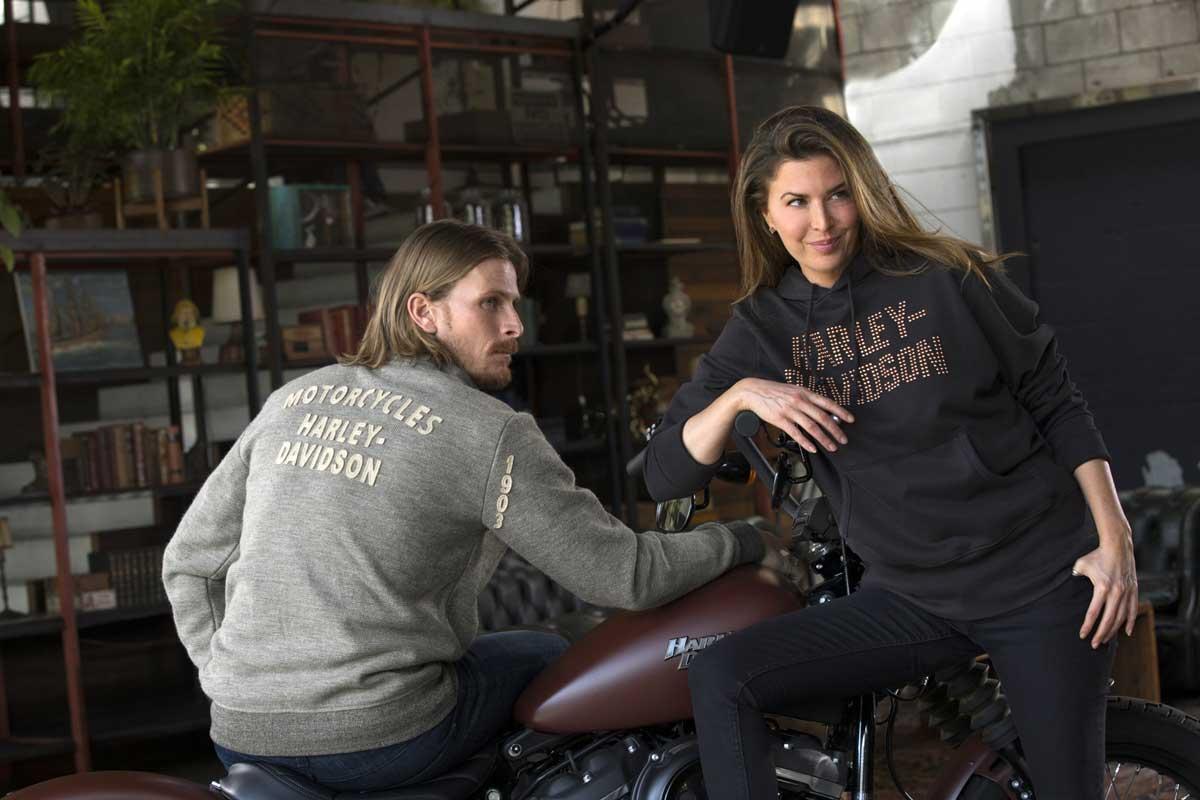 Schöner feiern mit Harley-Davidson Winterfashion unterm Baum