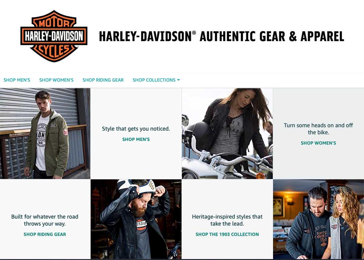Harley-Davidson und Amazon kooperieren ab sofort in den USA