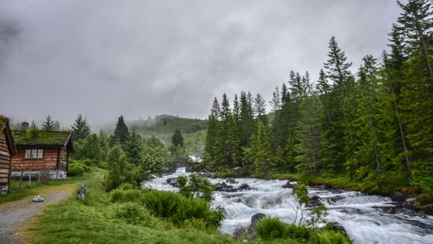 Die Landschaft in Norwegen ist traumhaft.