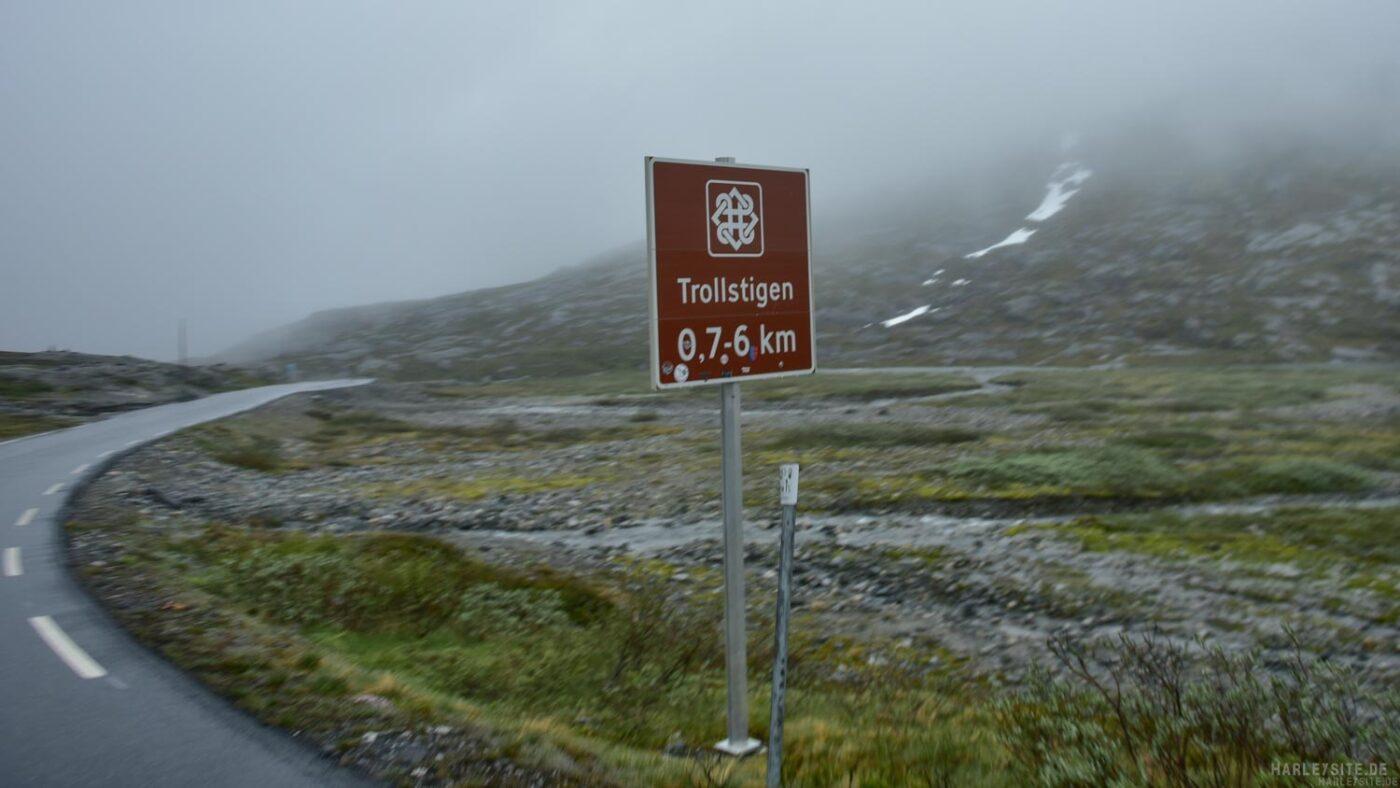 Die Trollstigen sind das erste Ziel auf der Sightseeing Express Tour