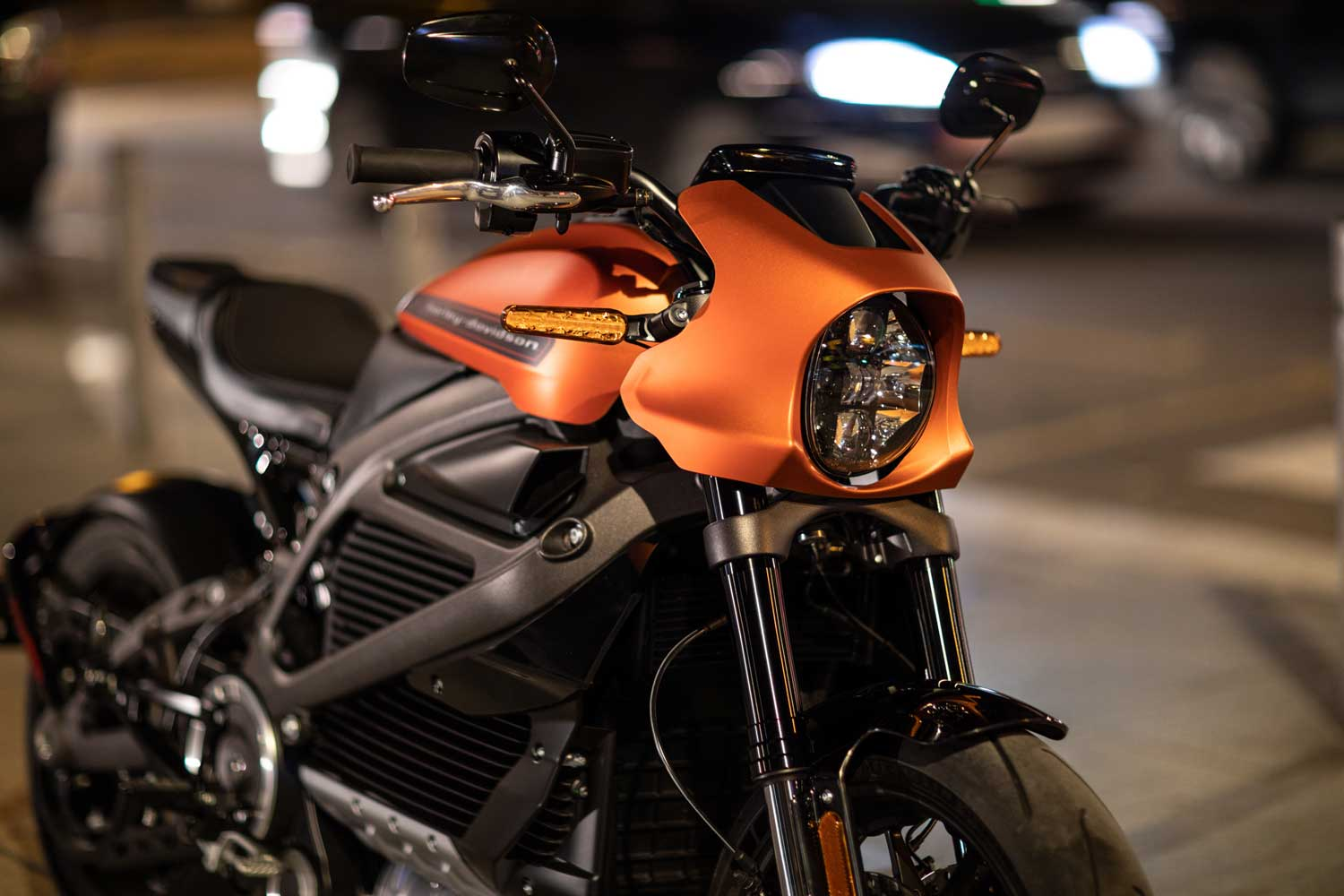 Harley-Davidson® release further details on 2019 LiveWire™ at EICMA show