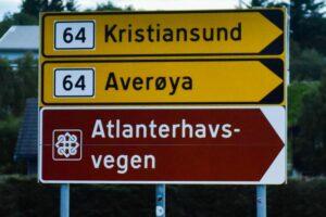 Die Atlantic Road in Norwegen war eine Ziel der Bucket List für mich auf der Tour.