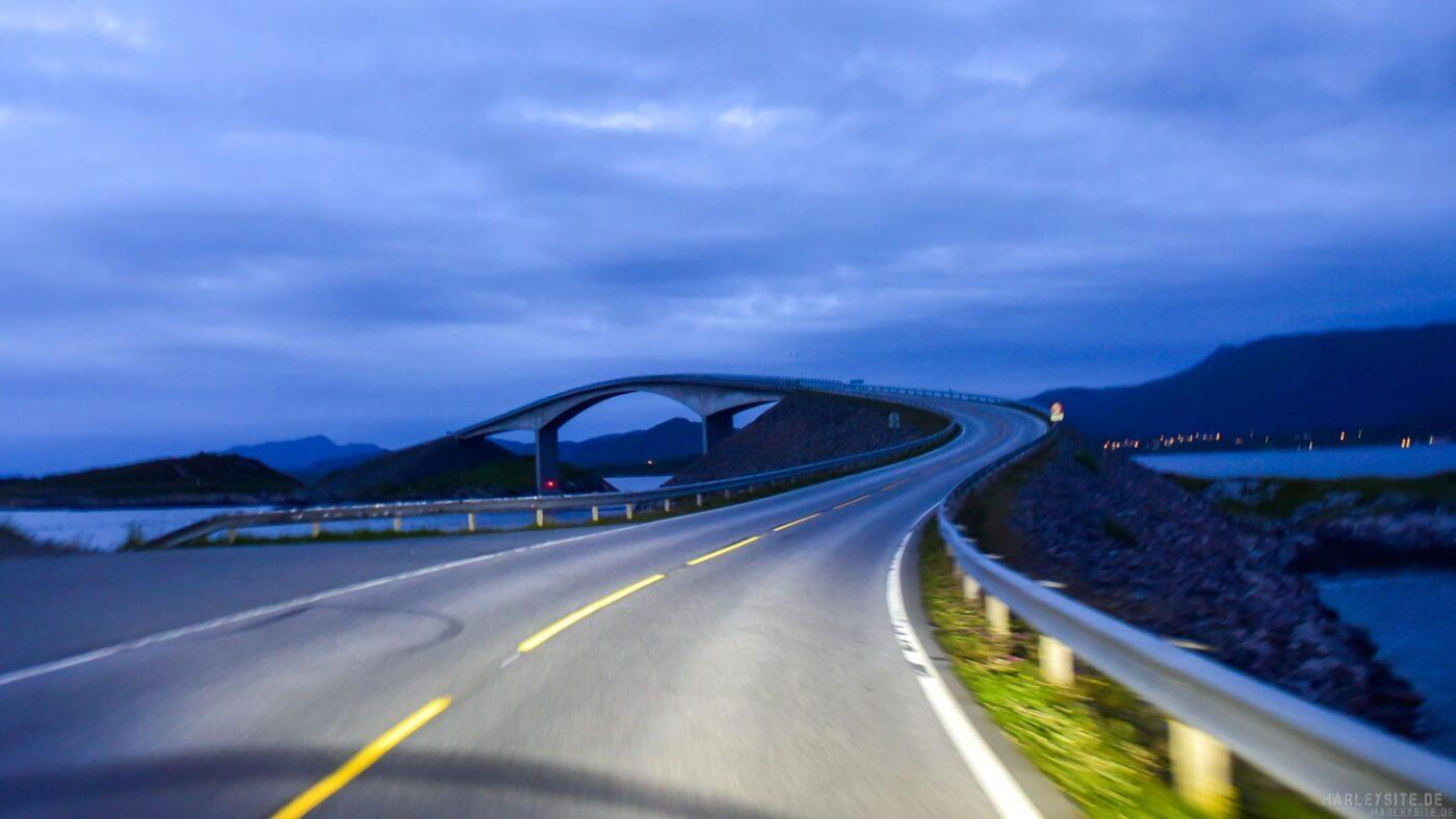 Die Atlantic Road in Norwegen