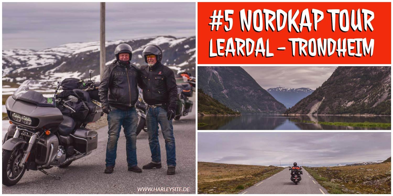 #5 Von Leardal über Berdalsfjellet nach Trondheim