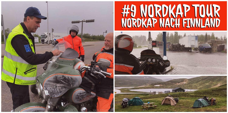 Rückfahrt vom Nordkap in Richtung Lappland