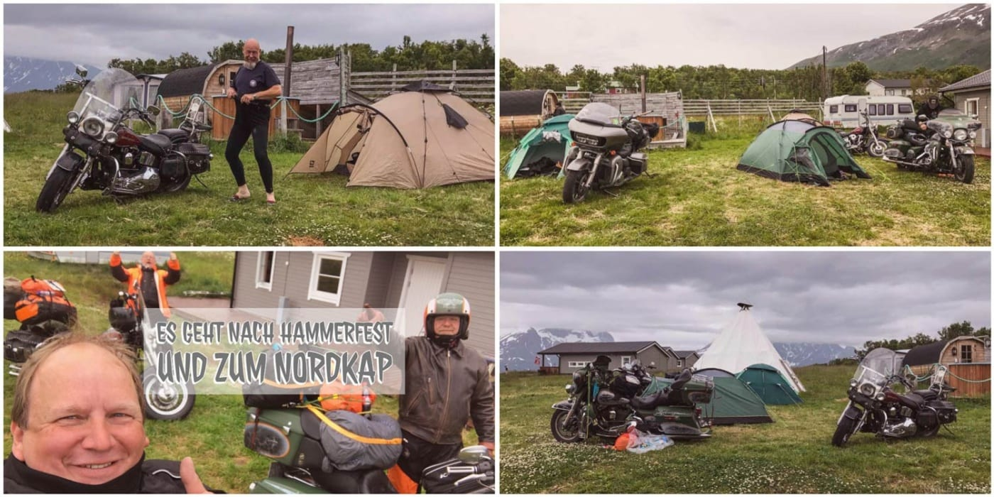 Olderdalen - Hammerfest - Nordkap Wir haben in Olderdalen übernachtet
