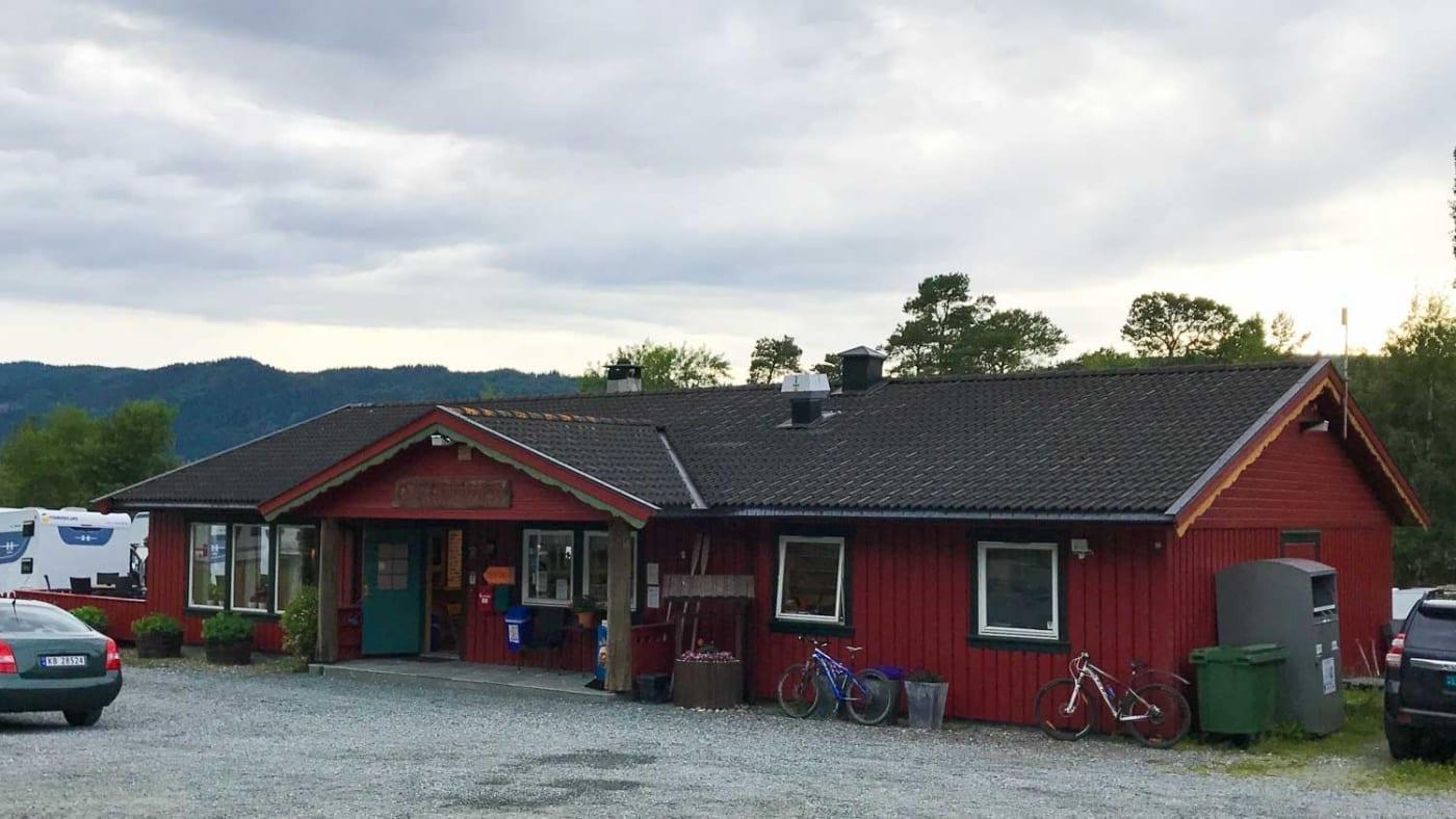 Tråsåvika Camping in Viggja Norwegen