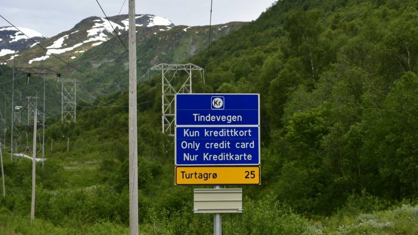 Traumstrecke für Motorradfahrer in Norwegen