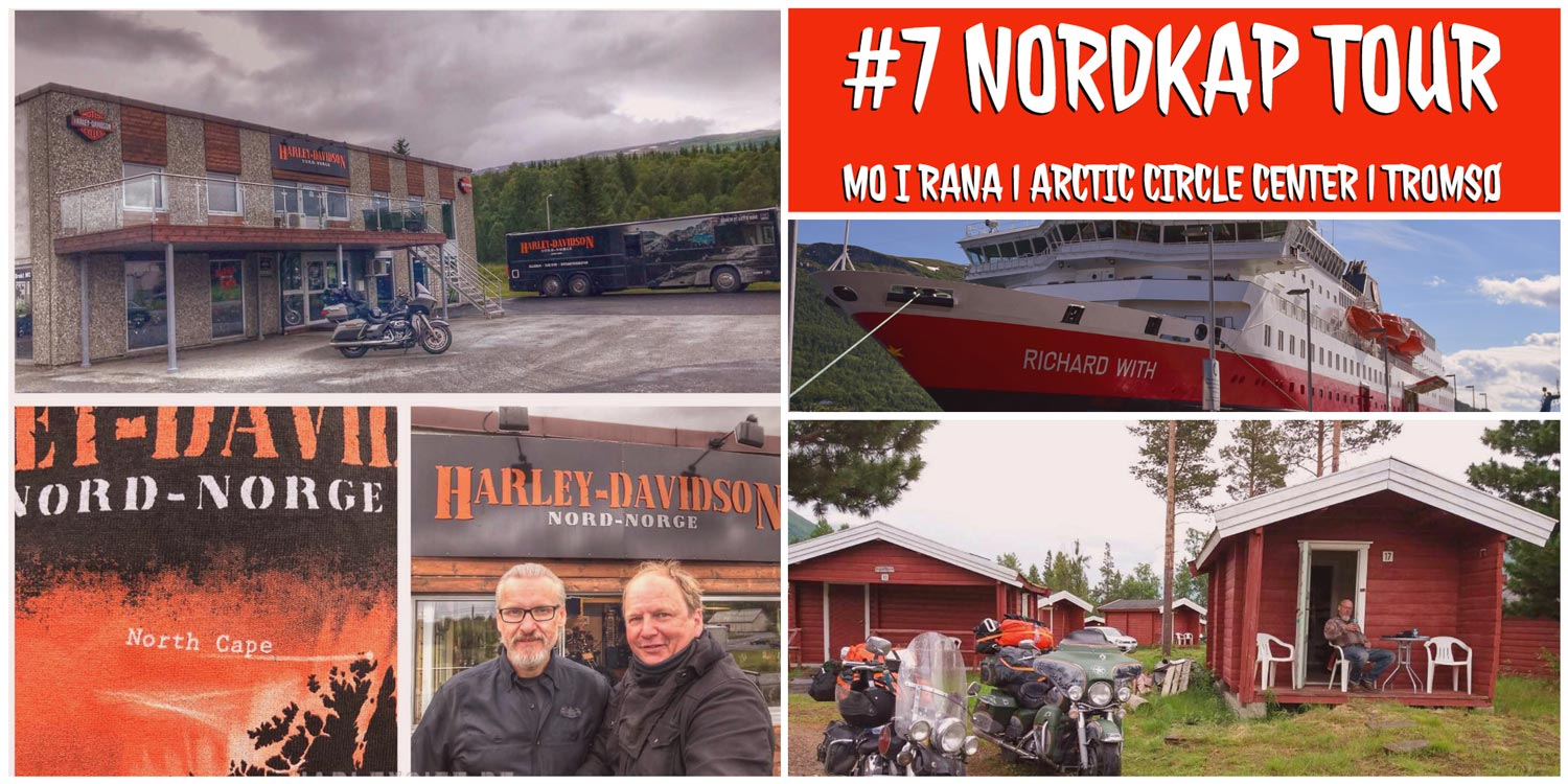 #7 Norwegen | Mo i Rana | Arctic Circle Center | Tromsø | Olderdalen