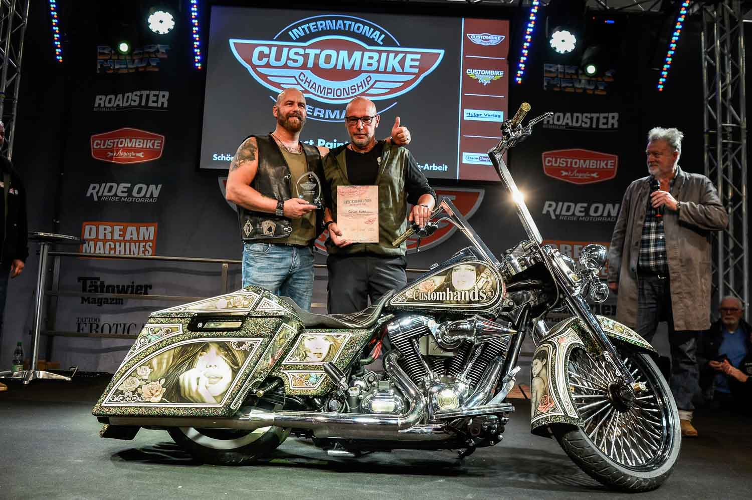 Best Paint Job: German Kunkel (D)/Harley-Davidson Road King Foto: Carsten Heil