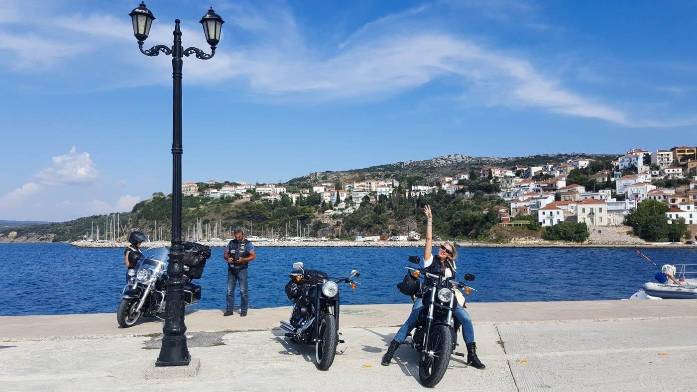 Harley Tour - Griechenland