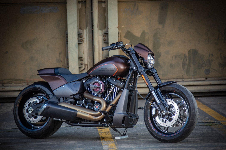 Customparts von Rick´s für die Harley-Davidson FXDR 114