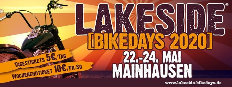 Lakeside Bikedays 2020 Plakat