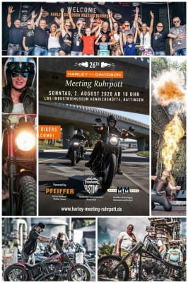 HDD Meeting Ruhrpott 2020 Collage