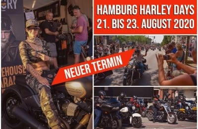 HAMBURG HARLEY DAYS IN DEN AUGUST VERSCHOBEN