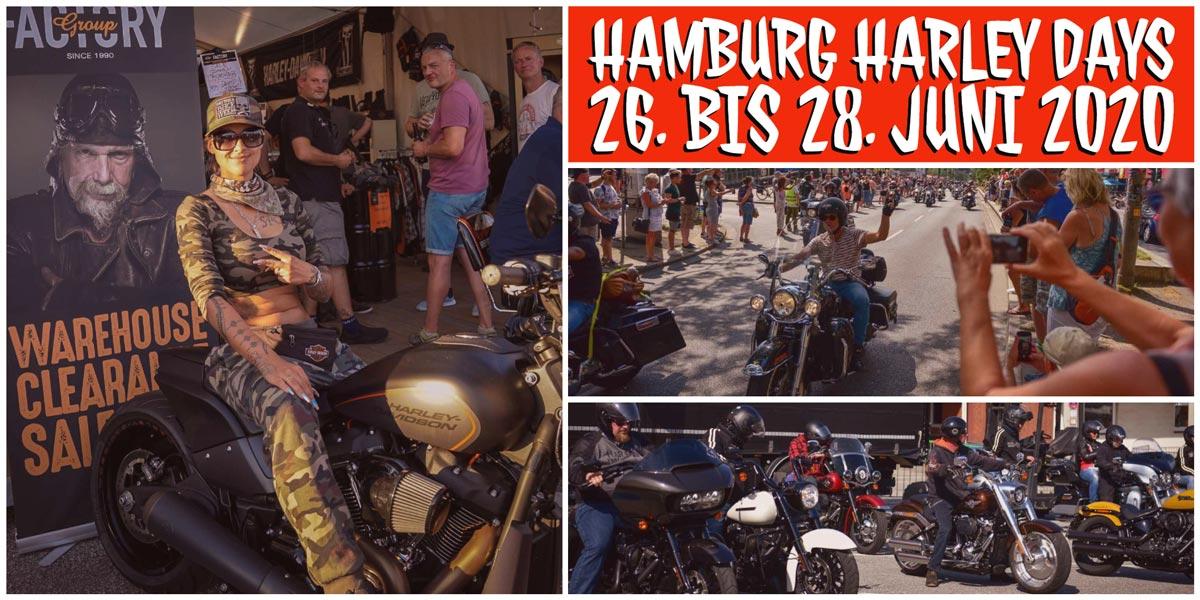 Coverbild zu den Hamburg Harley Days 2020