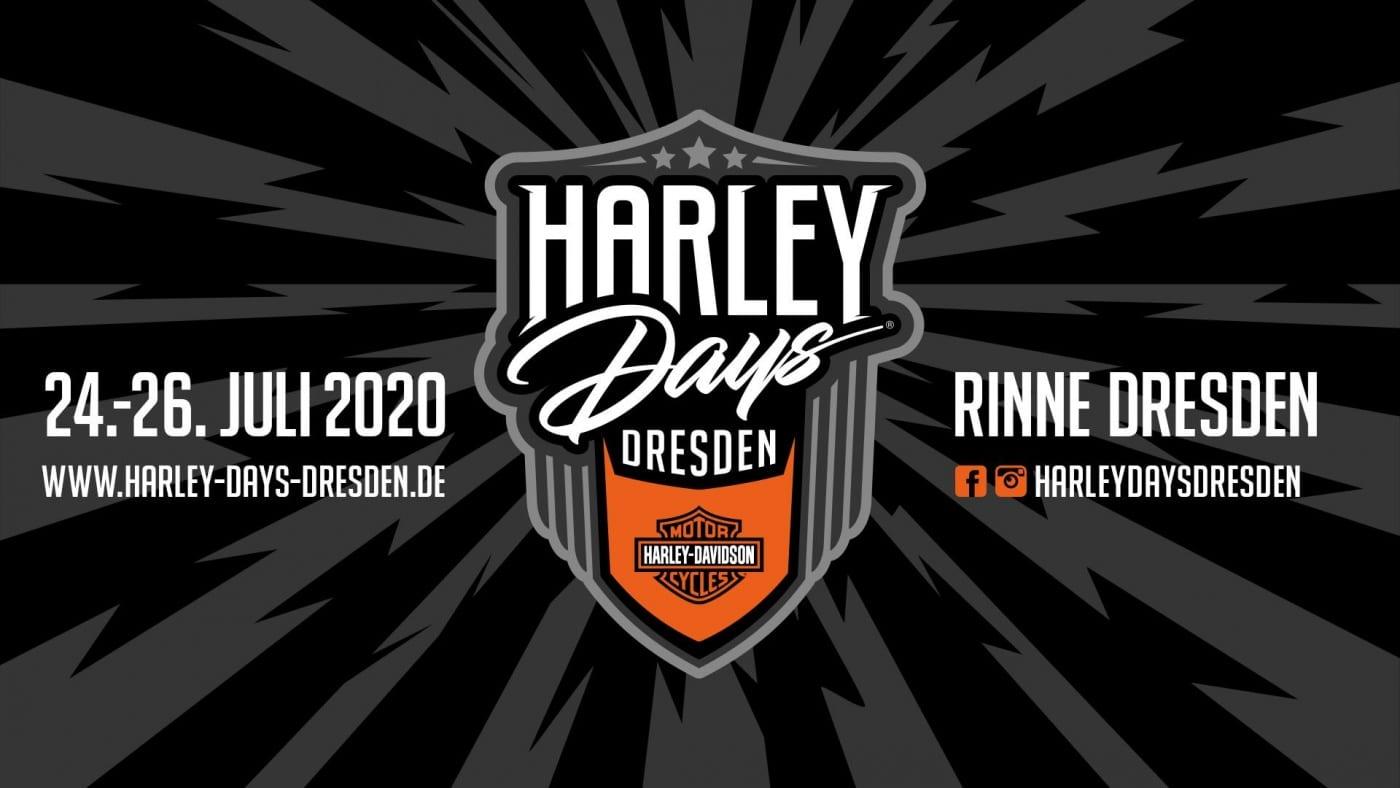 Das Logo von den Harley Days Dresden 2020