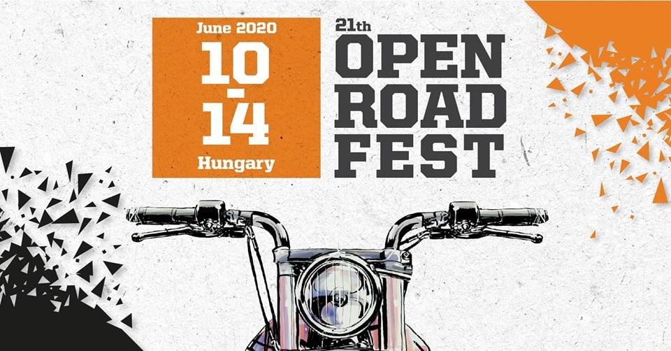 Open Road Fest 2020 Logo