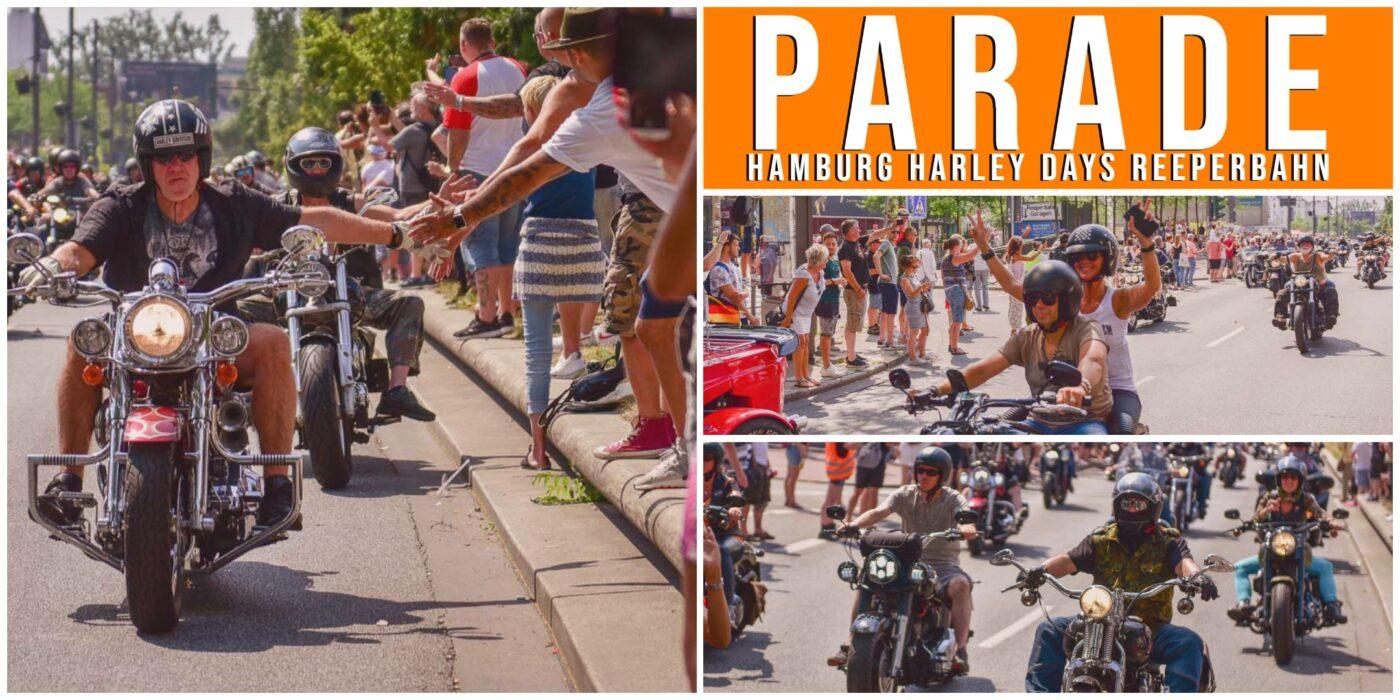 Collage von den Hamburg Harley Days
