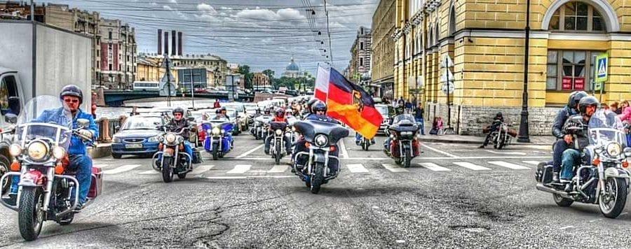 Geführte Tour zu den Harley Days 2020 in St. Petersburg