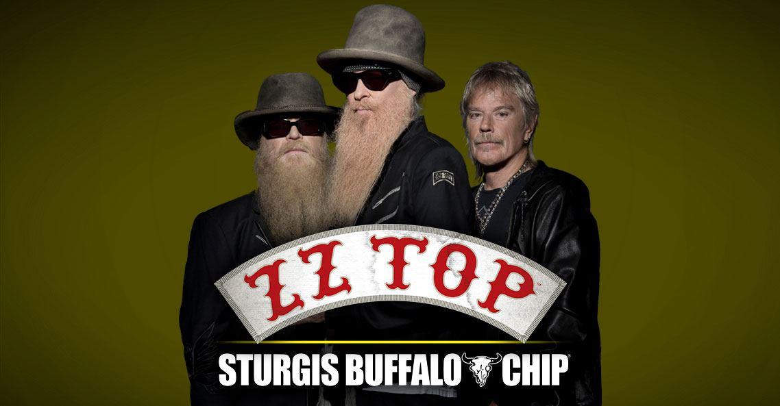 ZZ TOP Sturgis Buffalo Chip