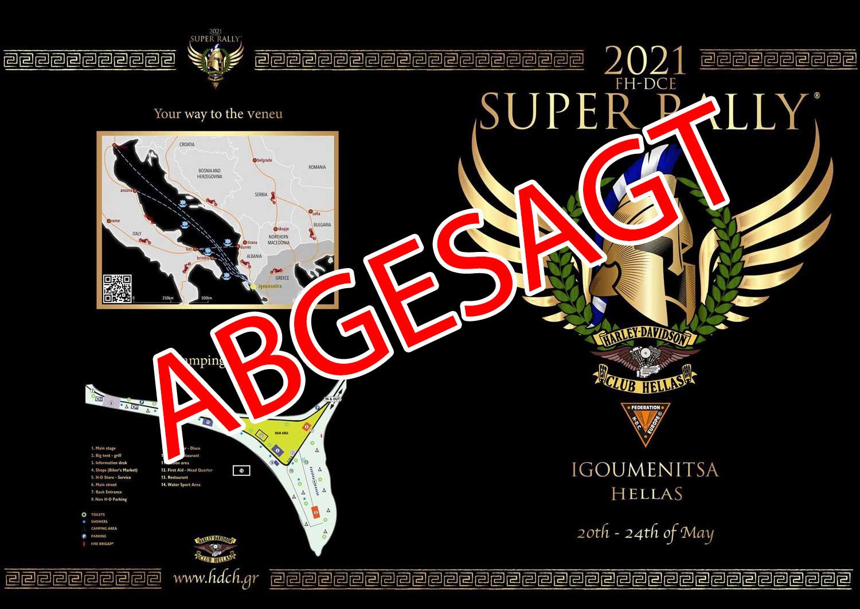 ABGESAGT - SUPER RALLY 2021 GRIECHENLAND 1