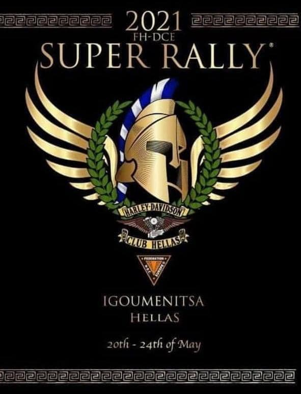 Super Rally 2021 in Griechenland