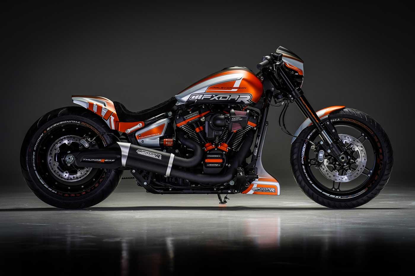 Thunderbike Harley-Davidson Niederrheinist der deutsche Custom King