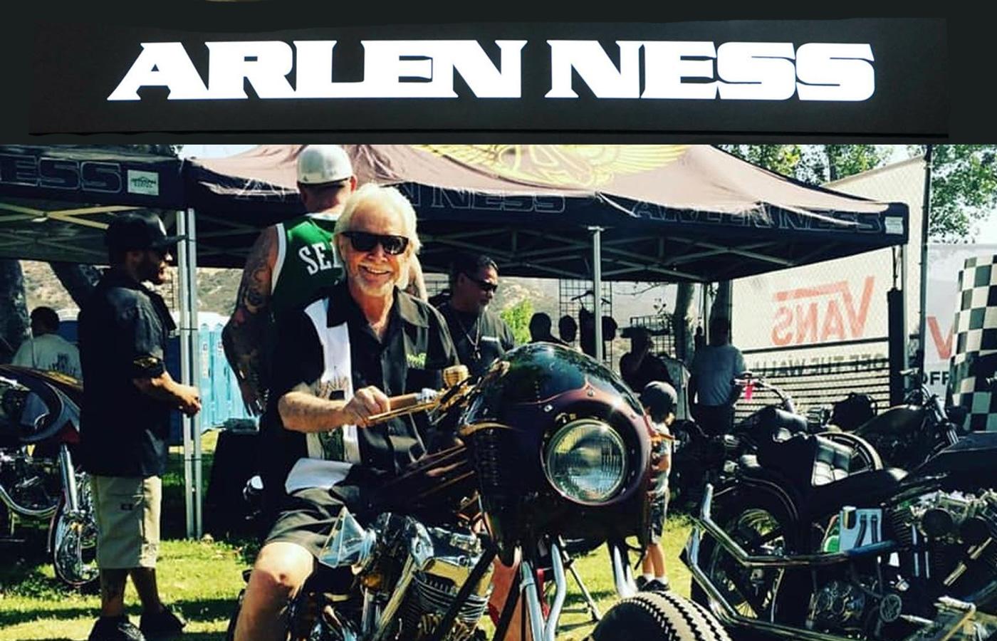 Die Customizer Legende Arlen Ness ist verstorben
