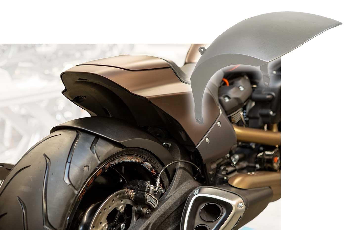 Schutzblech Harley-Davidson FXDR 114