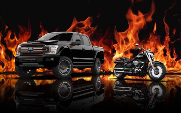 Ford F-150 Pickup Harley-Davidson Truck