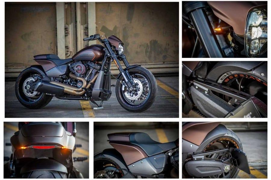 Neue Custom Parts für die Harley-Davidson FXDR 114