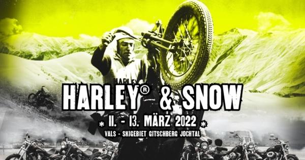 Harley and Snow 2022 in Südtirol