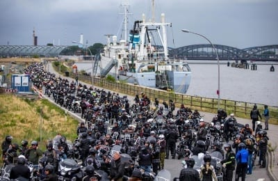 Vom 28. bis zum 30. Juni steigen die Hamburg Harley Days