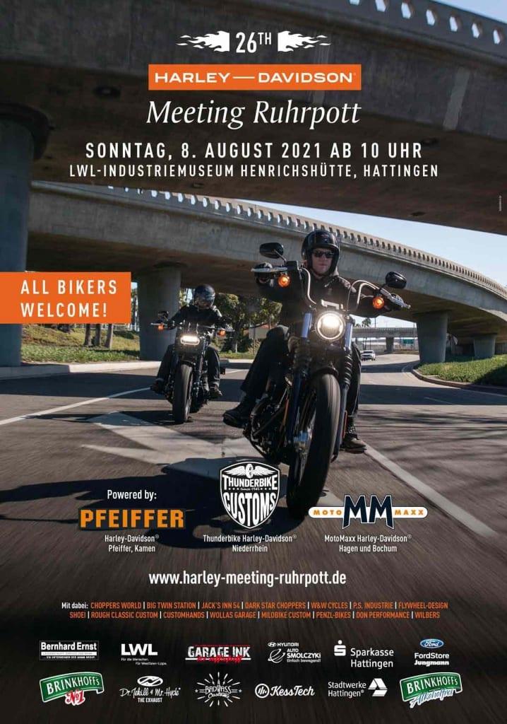 Harley-Davidson Meeting Ruhrpott 2021
