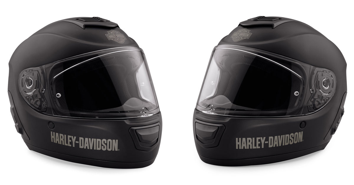 Harley Helm Boom Audio Full Face