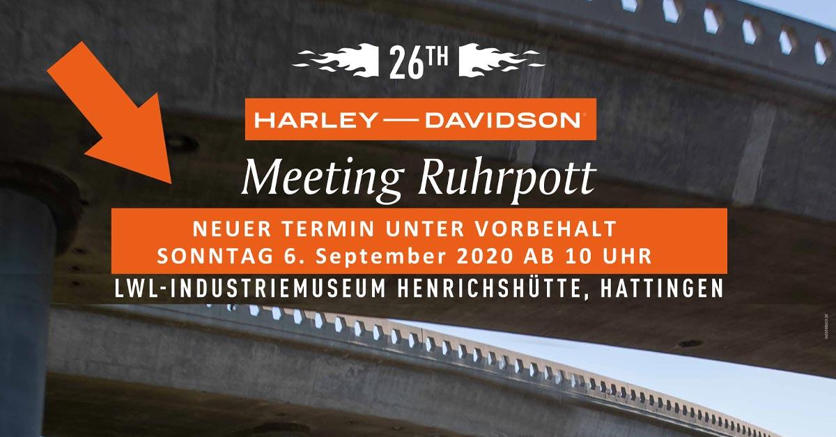 NEUER TERMIN - RUHRPOTT MEETING 2020