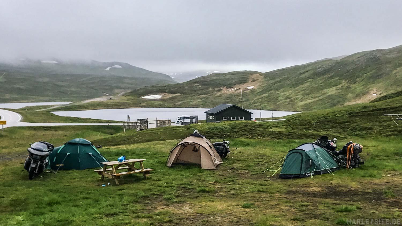 Das Zelten am Nordkap war für uns eine ganz Besondere Erfahrung.