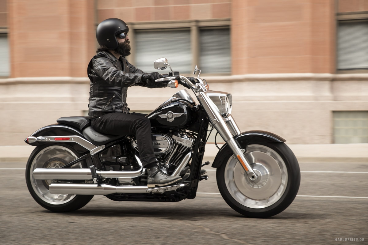 Harley-Davidson Fat Boy 114 cui 2019