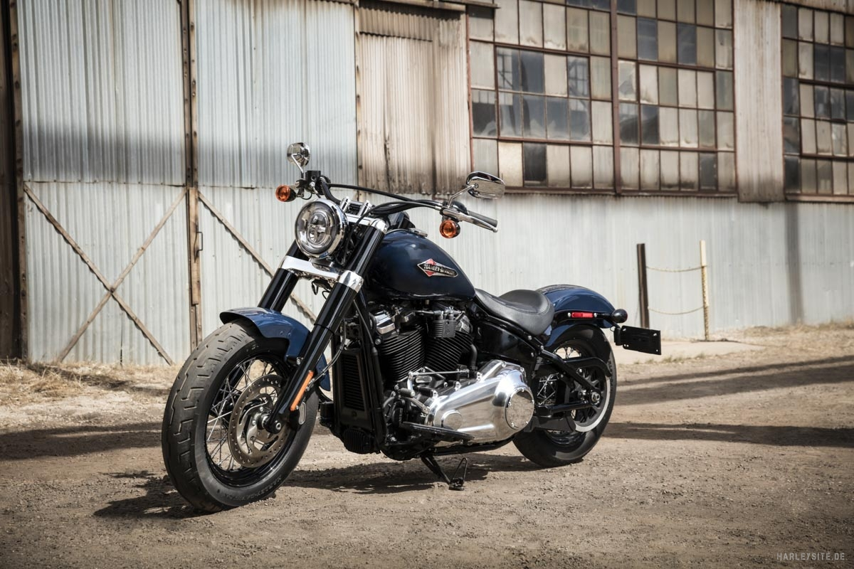 9 2019 Softail Slim 12 US Version