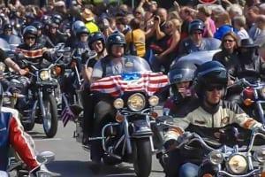 Hamburg Harley Days Parade 2008