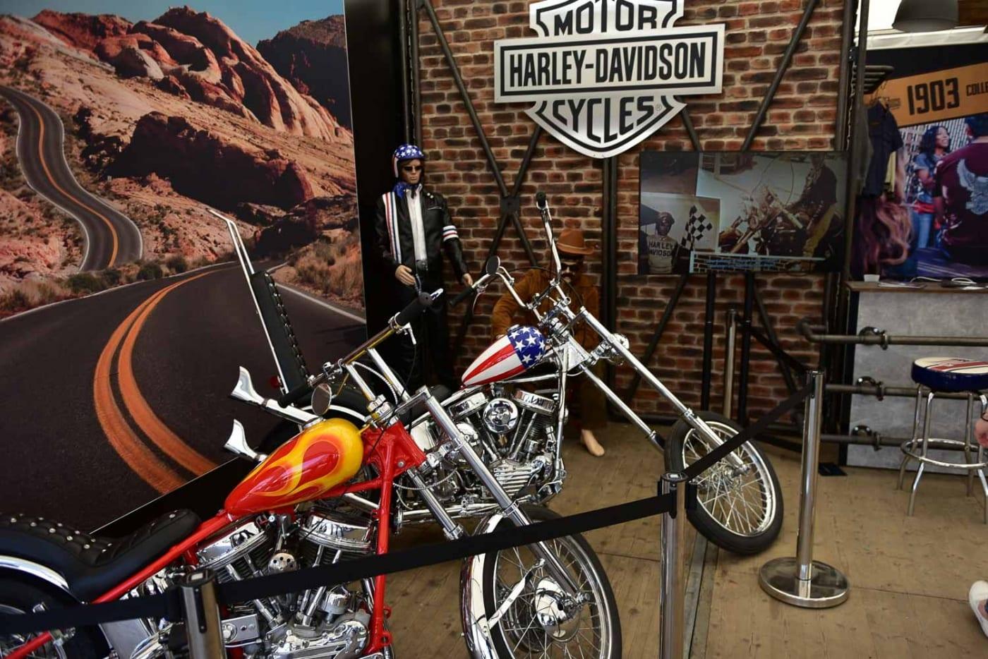 Easy Rider auf den Haburg Harley Days